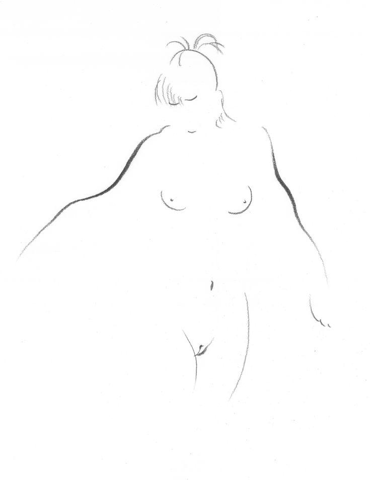 Risultati immagini per nude girls sketch