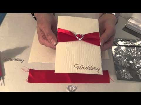 HOW TO MAKE YOUR OWN WEDDING INVITATIONS HANDMADE CARDS