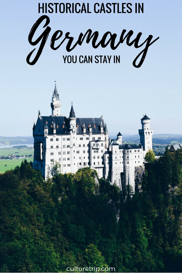 Historical Castles In Germany Where You Can Stay Overnight