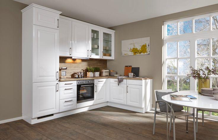 Kuchyně Luisa bílá  #Provence #kuchyně #kitchen #modernikuchyne