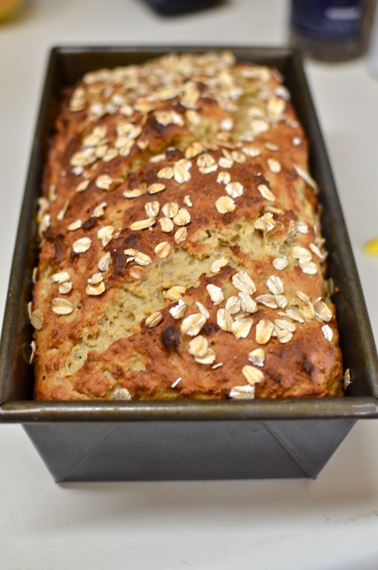 No Kneading only ONE rise Gluten-Free Honey Oatmeal Bread @ Yammie's Glutenfreedom: *Gotta try :)