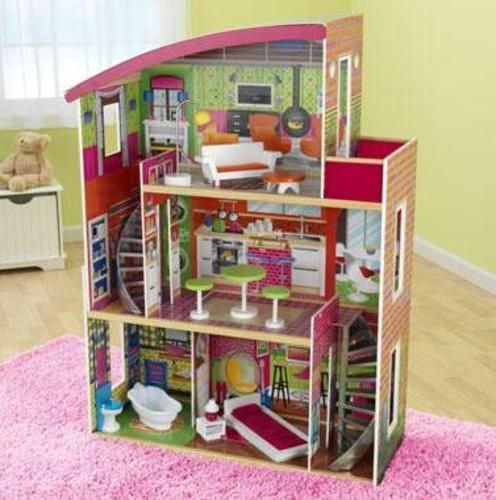 1000 images about dollhouses on pinterest mansions for Big modern dollhouse