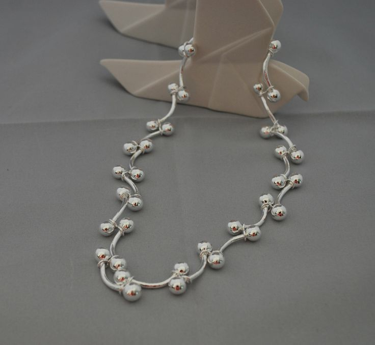 Big Grape Necklace #Sterling Silver #Top Selling Pin  www.eastern-elements.com.au