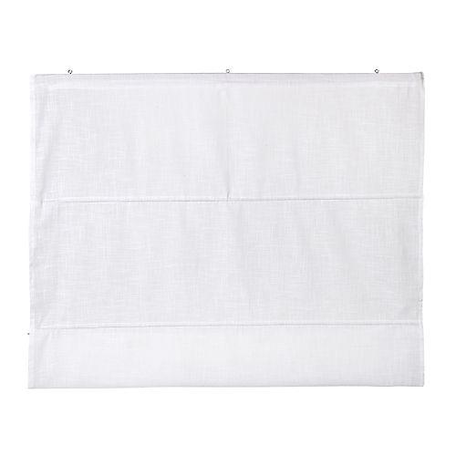 Lina II - Stores, Tringles-Textiles, Tapis Store en coton 100x170cm blanc