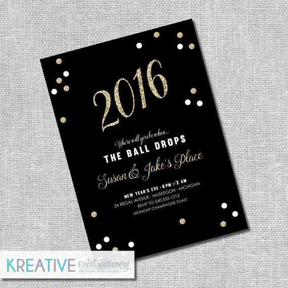 new years eve wedding invitations 25 best ideas about new years invitations on 6154
