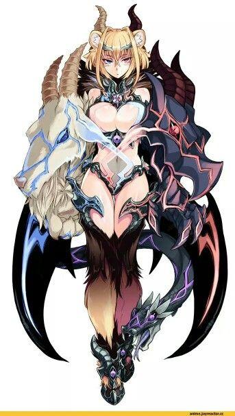 Monster Hunter girl. Cerberus