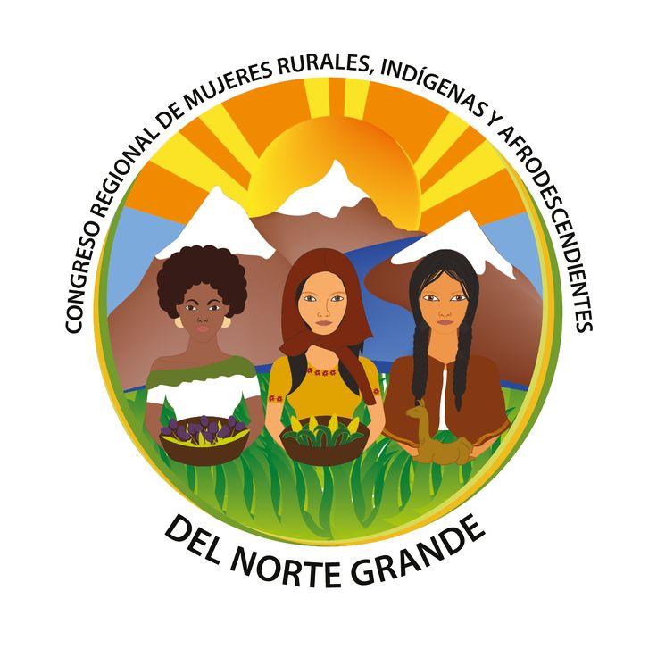 Logotipo para congreso de mujeres del norte grande de Chile Año: 2014