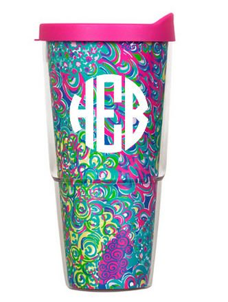 tinytulip.com - Lilly Pulitzer Monogrammed Lilly's Lagoon Large Tumbler with Lid , $30.00 (http://www.tinytulip.com/lilly-pulitzer-monogrammed-lillys-lagoon-large-tumbler-with-lid/)