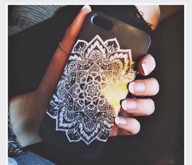 Mandala iphone case from Zazzle.com