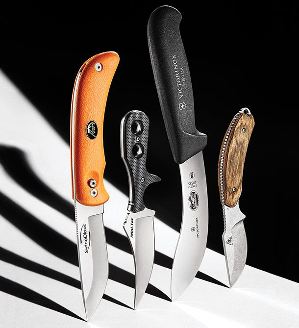 Field Test: 4 Top Skinning Knives