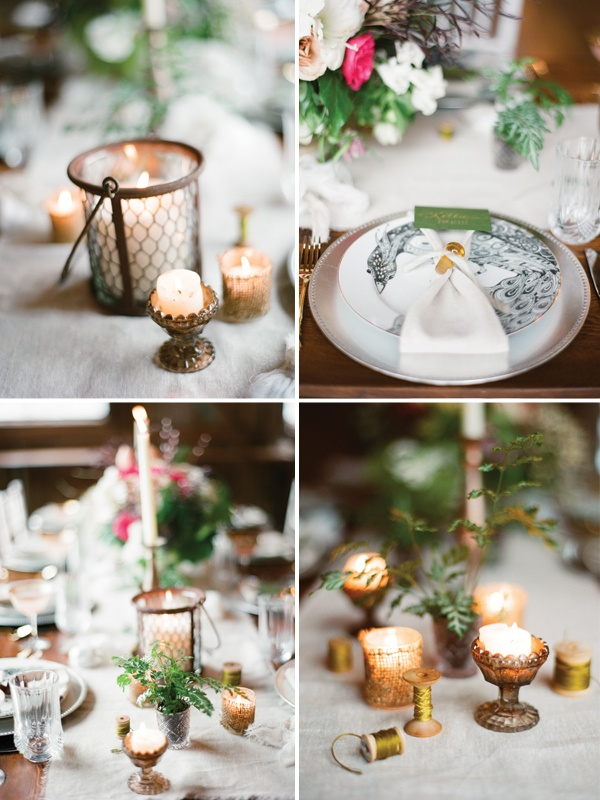 Best winter wedding table decorations images on