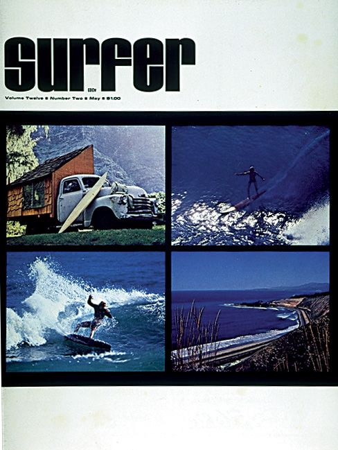 surfer mag cover 1971