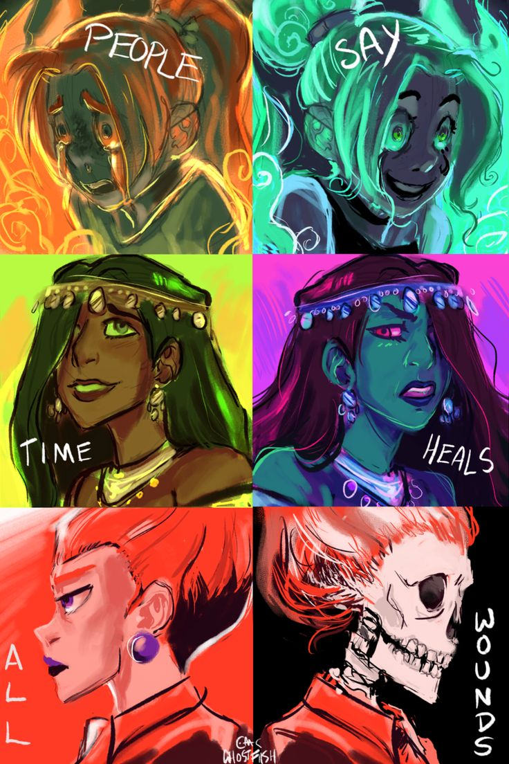 People Say Time Heals All Wounds by ghostfiish