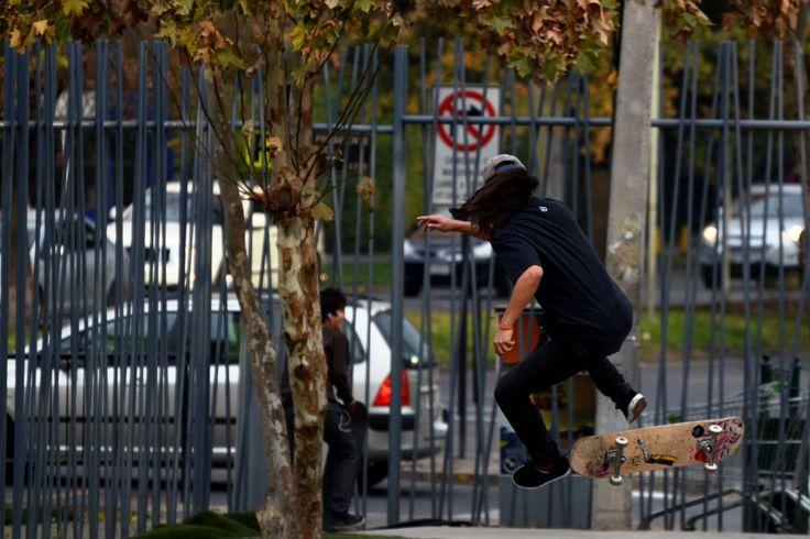TC Skate Park, Parque Araucano Santiago