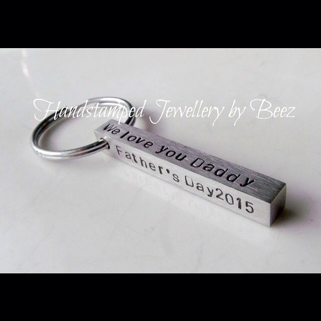 Father's Day is on the way, gorgeous personalised jewellery and gifts, handcrafted here in Melbourne!! Shop at my website at www.handstampedbybeez.com