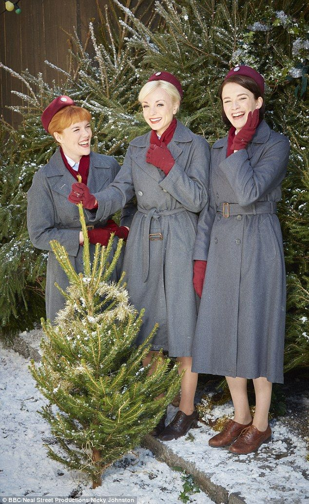 Ten million people are expected to tune into Call The midwife on Christmas Day (pictured)