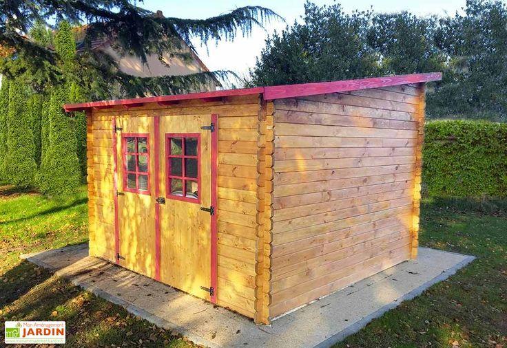 <p>L'<strong>abri de jardin en bois</strong> de chez Habrita est original grâce à son toit mono pente qui se place comme vous le souhaitez. A vous de choisir si la pente se trouve devant, derrière ou sur le côté de l'abri. Il est également possible ... (suite)