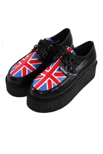 Fashion Union Flag Creepers OASAP.com