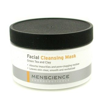 MENSCIENCE » CLEANSER » FACIAL CLEANING MASK - GREEN TEA AND CLAY