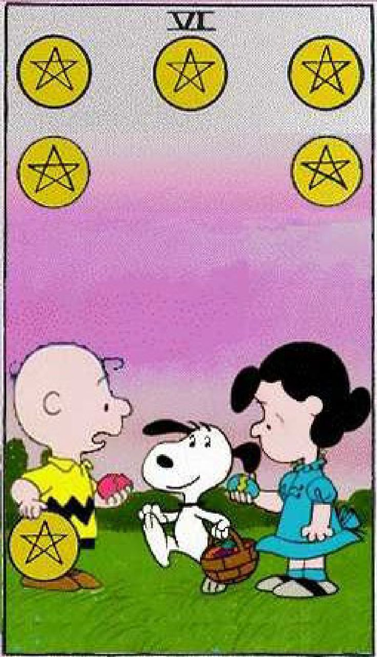 17 Best Images About Peanuts Tarot Deck On Pinterest The