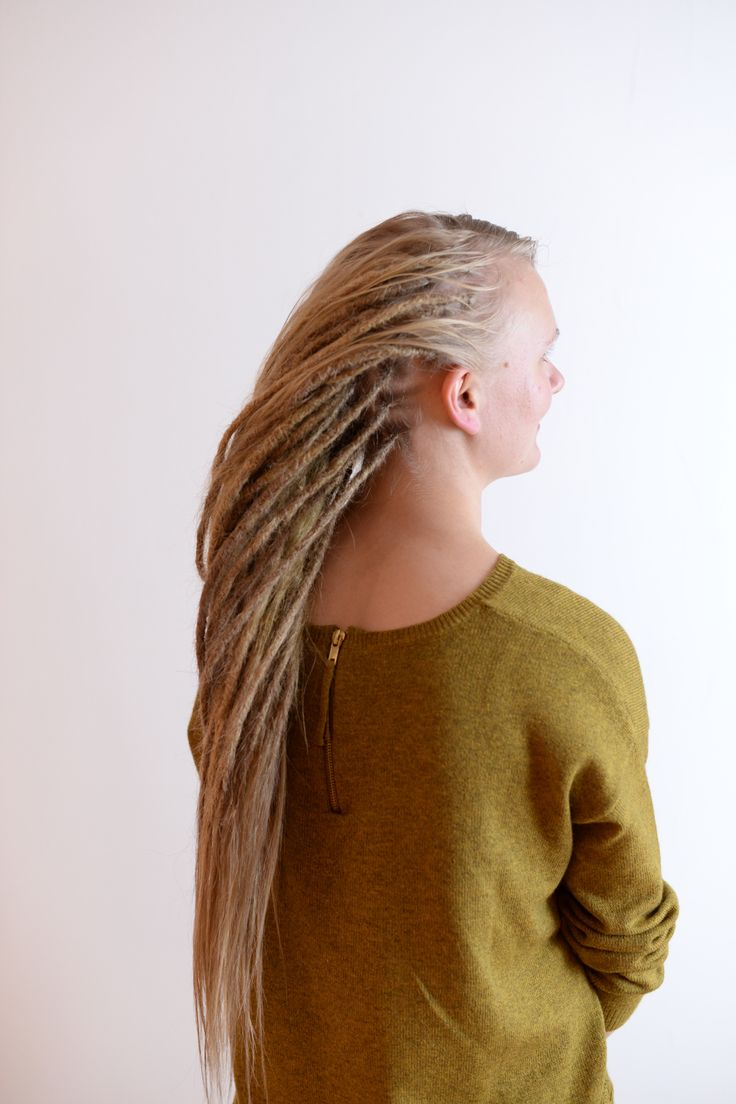 Best 25 thin dreads ideas on pinterest dreadlocks girl blonde this is lina she came to me to get her own hair dreaded and get extensions of human hair for length she has typical scandinavian fine thin hair so we went pmusecretfo Images