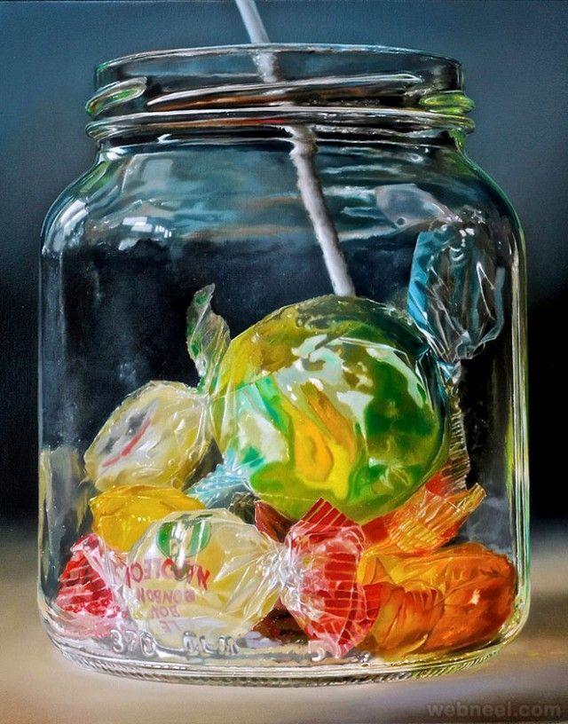 Les Peintures hyperréalistes de Tjalf Sparnaay (19)