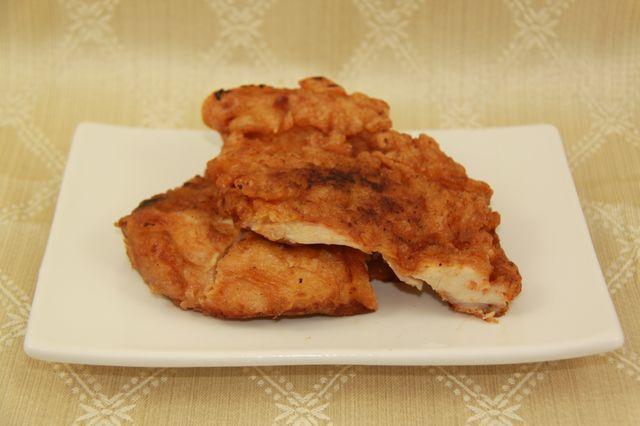Pollo fritto alla fiorentina
