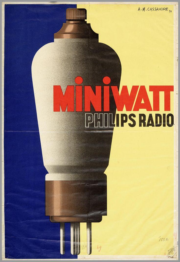 Miniwatt Philips Radio, 1931