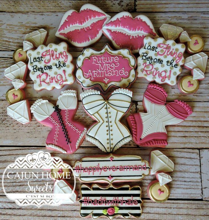 Bachelorette cookie set.