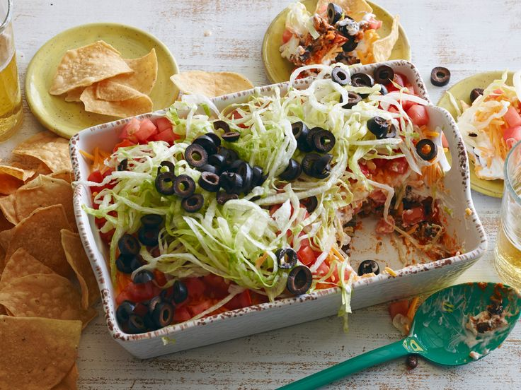 Taco Dip recipe from Food Network Kitchen via Food Network