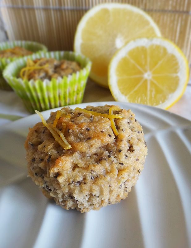 Grapefruit, Lemon & Chia Cakes from Baking, Thermomix by Gastromony
