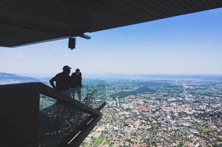 The view point. One of the most spectacular places in Dornbirn. [#dornbirn] [#karren] [#vorarlberg] [#igersaustria}
