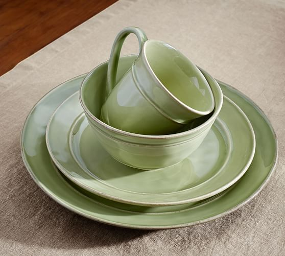 Cambria Dinnerware Mint Pottery Barn Special 25 50 97