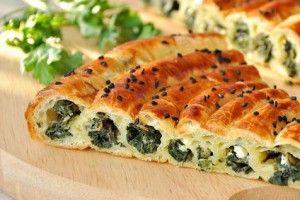 Пирог со шпинатом и сыром - Рецепты. Кулинарные рецепты блюд с фото - рецепты салатов, первые и вторые блюда, рецепты выпечки, десерты и закуски - IVONA - bigmir)net - IVONA bigmir)net
