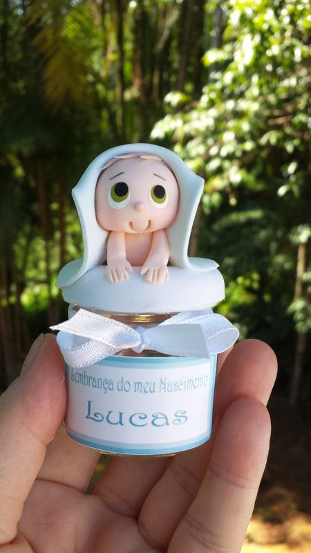 Maternidad Souvenir o ducha de bebé - Algodón cordero - Lembrancinhas