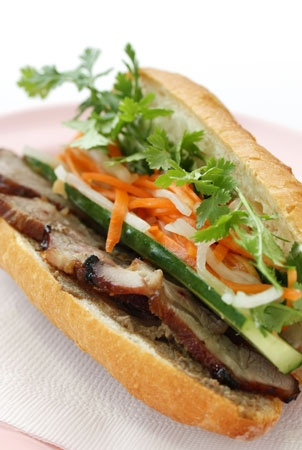 Banh mi...I love these things.