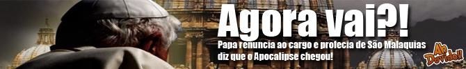 Agora vai?! Papa renuncia ao cargo e profecia de São Malaquias diz que o Apocalipse chegou!