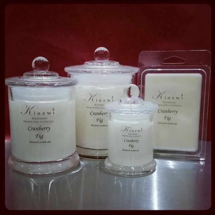Cranberry Fig Kiozwi Soy Candles .. perfect for Winter Available at www.kiozwi.com.au