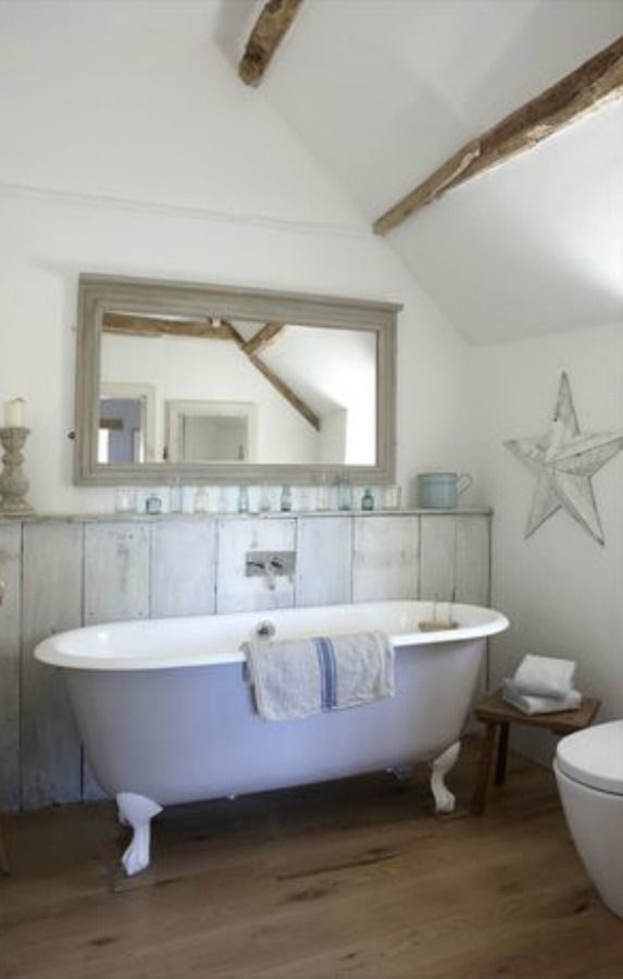 Rustic French Nordic Cottage Interiors In Cotswolds Small
