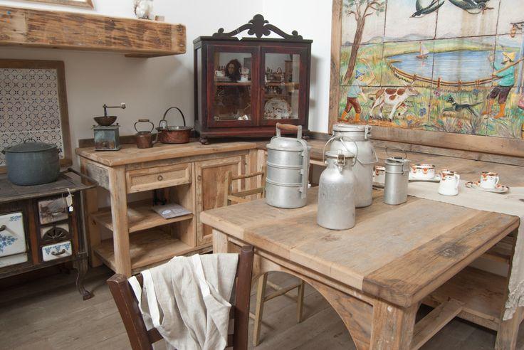 Cucina country ispirata alle cucine toscane rustiche del - Cucine country milano ...