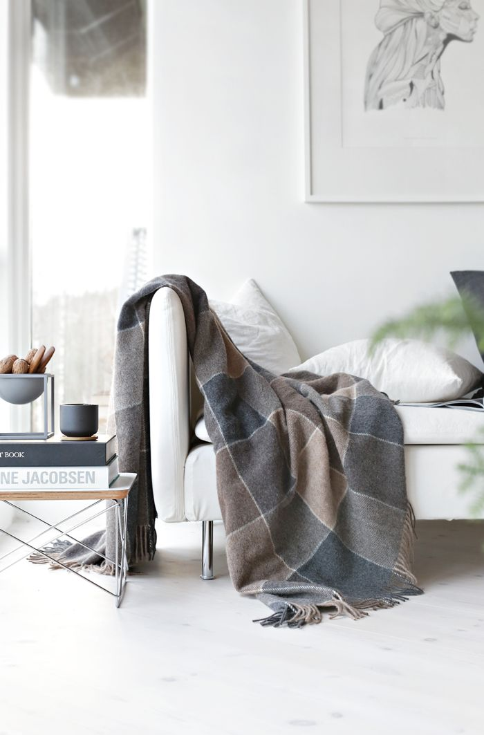 Stylizimo / Get warm in Norwegian throws  // #Architecture, #Design, #HomeDecor, #InteriorDesign, #Style