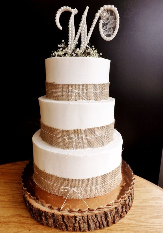 burlap wedding cake decorations 17 best images about burlap wedding cakes on 12256