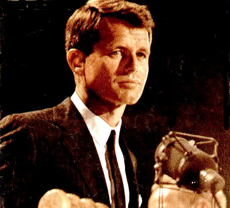 Just the mention of his brother's name brought a storm of applause. Robert F. Kennedy Addresses 1964 Democratic Convention – August 27, 1964