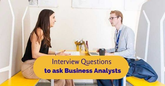 interview questions for business analyst