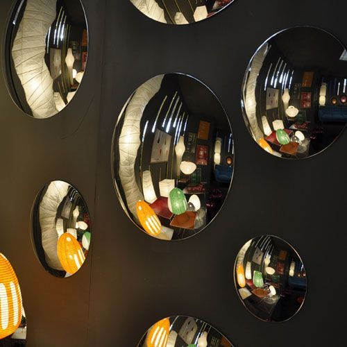 Les 17 meilleures id es de la cat gorie miroir convexe sur for Miroir acrylique incassable
