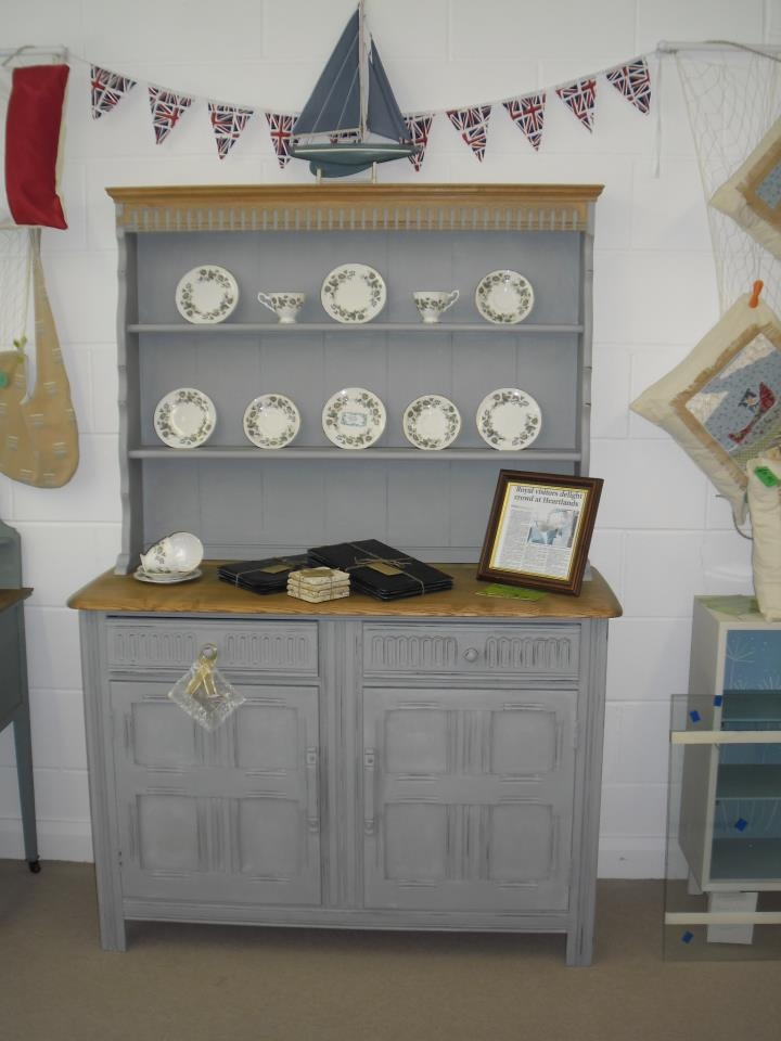 Priory solid wood dresser, stripped and painted to create gorgeous subtle shabby chicness SOLD