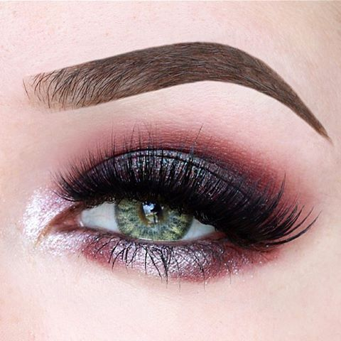 Finally got my hands on @colourpopcosmetics Bae eyeshadow! This is the makeup look I created with it. blush ---------------------- 1. Brows: @anastasiabeverlyhills dipbrow pomade in mediumbrown 2. Eyelid: @colourpopcosmetics Supershock shadow in Bae (applied with my finger for intense colour pay-off) 3. Crease: @makeupgeekcosmetics Unexpected and Cupcake, I also added a tiny bit of bae with a blending brush 4. Innercorner: @makeupgeekcosmetics Whimsical 5. Underneath the lashline:
