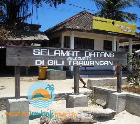Keindahan wisata gili trawangan Lombok