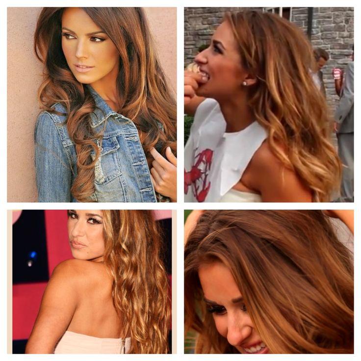 Carmel Honey Dipped Hair