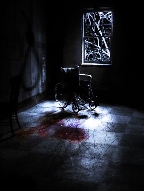scary photo manipulation  my scary room inspired by